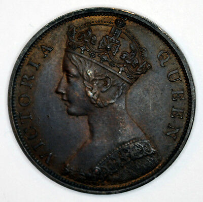 1863 Victoria Hong Kong One Cent