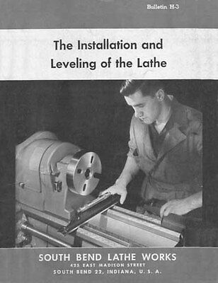 South Bend Lathe Installation and Leveling Manual