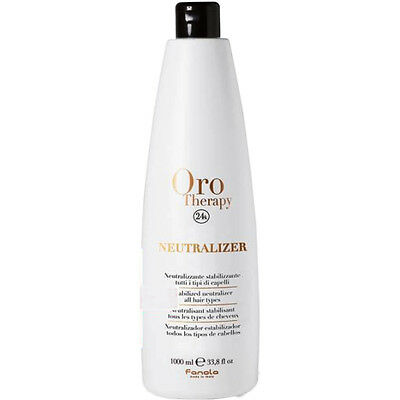 Stabilized Neutralizer all Hair Types 1000ml 24k Oro Therapy ® Neutralizzante