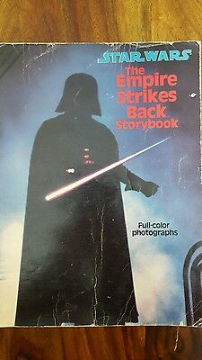 star wars the empire strikes back storybook (1980)