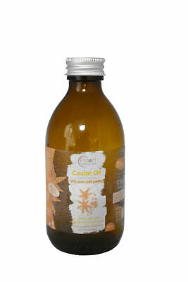 Castor Oil - 100% Pure & Cold Pressed Carrier, Massage & Aromatherapy Oil BP