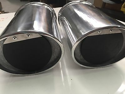 Exhaust Outlet with Built In Muffler 3-31/2 TAWCO MARINE RACE V8 SKI   BBC SBC