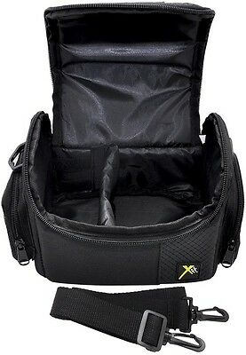 Digital Deluxe Camera Carrying Case Bag For Canon Powershot SX60 SX520 SX530 HS