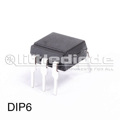 TIL112 Opto Optocoupler Case DIP6 Make Texas Instruments