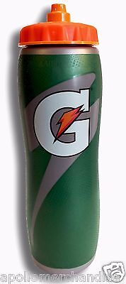 32oz Insulated Gatorade Water Bottle with Gator Skin Grip - Brand New!