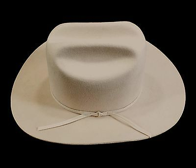 bec5ad9e44a Reed Hill Western Hat Bone Fur Blend 63 4 - Made in USA
