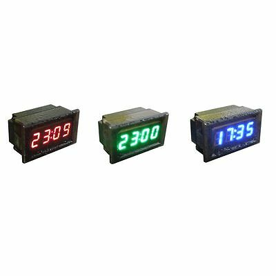 Wasserdicht Auto Motorrad DC 12V 24V Armaturenbrett Digital LED Display Clock