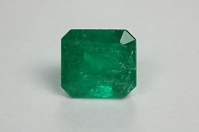 Dark Forest Green 1.54 Carats Natural Colombian Emerald Loose Gemstone!
