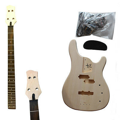 Guitar DIY Kits Great Student & Luthier Starter Package, HY111 AL209 Bass