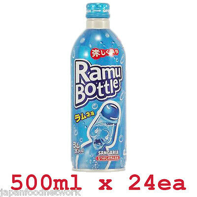 Sangaria Ramune Soda 500ml x 24ea Japanese Authentic Drink