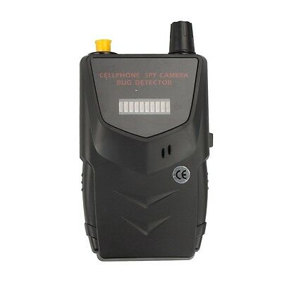Wireless Spy RF Signal Bug Detector -Detect WiFi Audio Cell Phone Finder Device