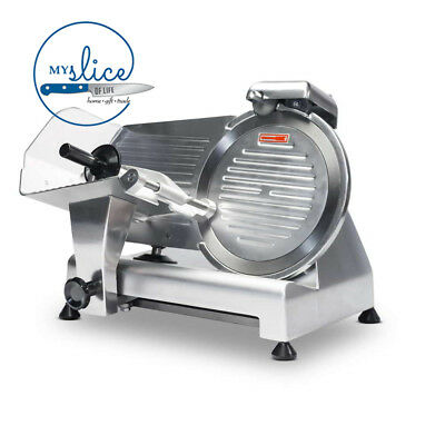 Linkrich 250mm Semi-Automatic Meat Slicer - Butcher / Chef / Deli / Restaurant