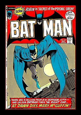 Batman Comic Cover A3 Print Only or Framed