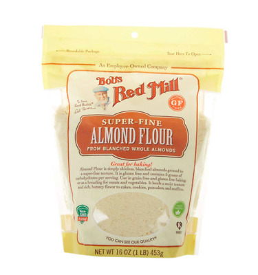 BOB'S BOBS Almond Flour RED MILL FINELY GROUND BLANCHED ALMOND FLOUR 16 oz bag