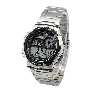 -Casio AE1000WD-1A Digital Watch Brand New & 100% Authentic