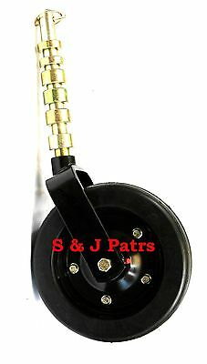 "COMPLETE RHINO, BUSH HOG, WOODS, FINISH MOWER WHEEL ASSEMBLY 10"" x 3.74"" WHEEL"