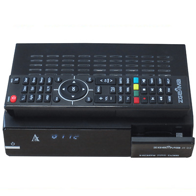 Zgemma H.2S Dual Core TWIN TUNER SATELLITE RECEIVER DVB-S2 FREE TO AIR