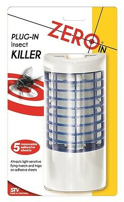 Stv Zero In Plug-In Insect Killer Zapper Keep Flies Out Of House Kitchen Zer736