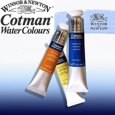Winsor & Newton Cotman Watercolour (8ml tubes) 40 Colours available to select