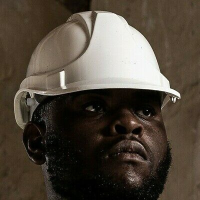 Blackrock 6 Point Safety Helmet Builders Hard Hat PPE Site Skull Protection