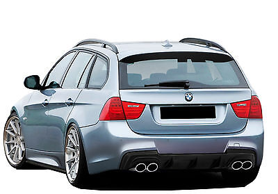 Paraurti Posteriore In Vetroresina Bmw Serie 3 E91 Look M Sport Rb260 2016