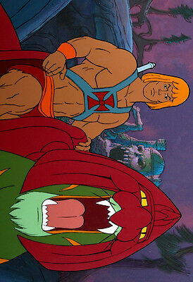 A3//A4 Size HE MAN BATTLE CAT MASTERS OF THE UNIVERSE NEW ART PRINT POSTER # 29