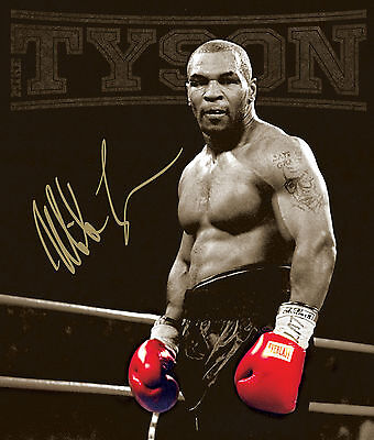 A3/A4 Size - MIKE TYSON BOXING LEGEND 1 NEW ART PRINT POSTER   # 29