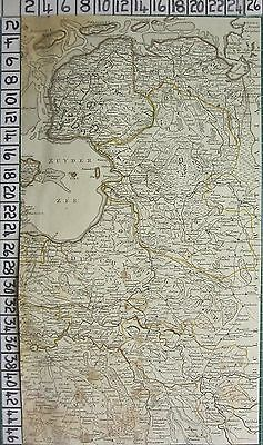 1782 Antique (Part) Map ~ Holland Dutchy Of Gueldre Brabant Sayer ~ Kitchin
