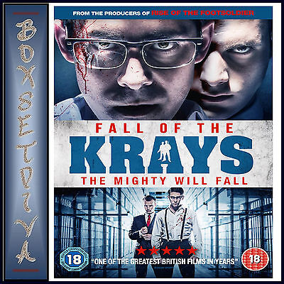 FALL OF THE KRAYS - Kevin Leslie, Josh Myers & Simon Cotton**BRAND NEW DVD***