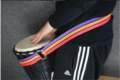 Colorful Djembe Harness  African Drums Shoulder straps Hand Drums Straps