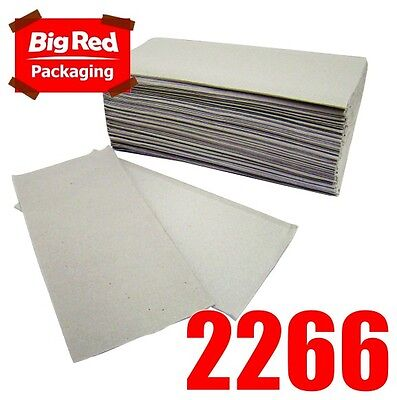 2400 x Interleaved Paper Towel for washrooms 24cmx24cm