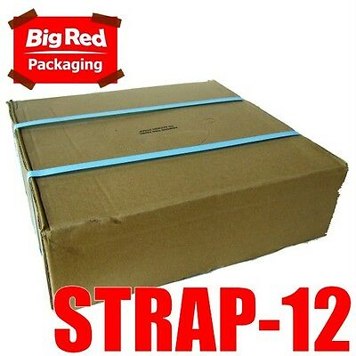 12mm x 1000m Blue Band Poly Strap 90kg load Strapping Polypropylene Packing
