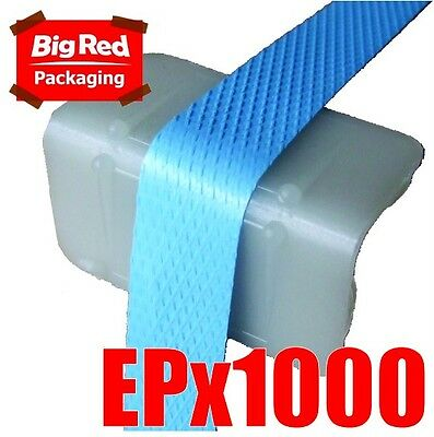 1000 x Plastic Edge Protectors for Strapping 45x25x25mm