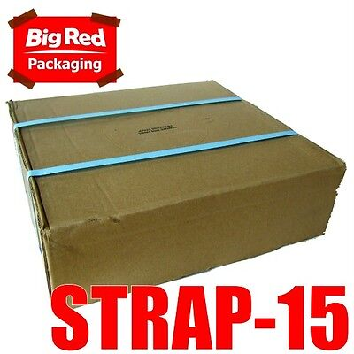 15mm x 1000m Blue Band Poly Strap 110kg load strapping polypropylene packing