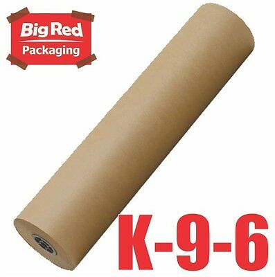 Brown Packaging Kraft Paper Roll 900mm x 350m 60GSM Packing Wrapping Craft