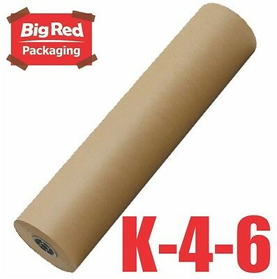Brown Packaging Kraft Paper Roll 450mm x 350m 60GSM Packing Wrapping Craft