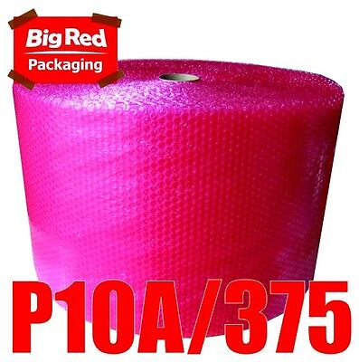 375mm x 100m Anti Static Bubblewrap Bubble Wrap Roll Safely wrap Electronics RED