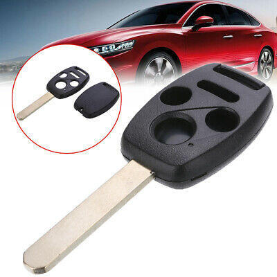 New Button Remote Key Fob Shell Case Replace For Honda Accord Civic Pilot