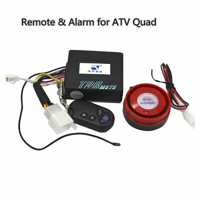 ATV Quad Remote Control Ignition Kill Switch + Alarm 150/200/250 cc Buggy Gokart