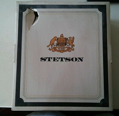 024 Vintage Stetson Hat Box Only 1960's?