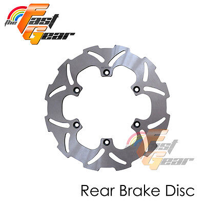 Solid Rear Brake Disc Rotor x1 For Yamaha YZ 250 02 03 04 05 06 07 08 09 10-13