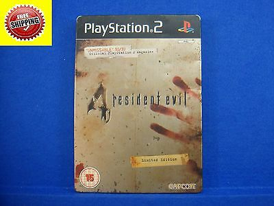 ps2 RESIDENT EVIL 4 Limited SteelBook Tin ONLY Playstation