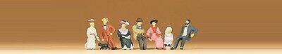 Preiser 12137 Seated persons 1900' 1:87 amazing detail