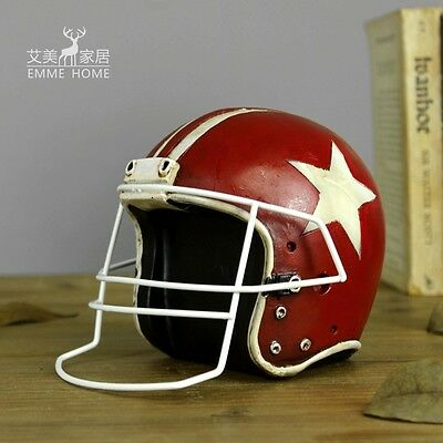 Stylish Vintage Retro Football Helmet Home Decoration Outdoor/indoor Decal