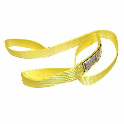 "TUFF TAG 2"" x 8 ft Nylon Web Lifting Sling Tow Strap 1 Ply EE1-902 Eye & Eye"