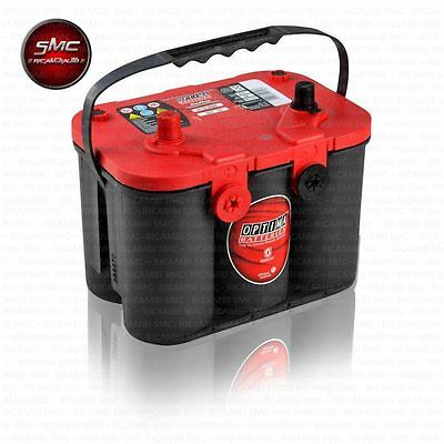 Rtc4.2 Batteria Optima Rossa Red Top Dodge - Chrysler Voyager Redtop 50 Ah 815A