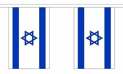 Israel Israeli Star Of David Polyester Material Flag Flags Bunting Various Sizes
