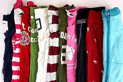 Abercrombie Lot of 11 Kids Girls Short Sleeve Shirts, Pants Small S 7/8 [BF8192]