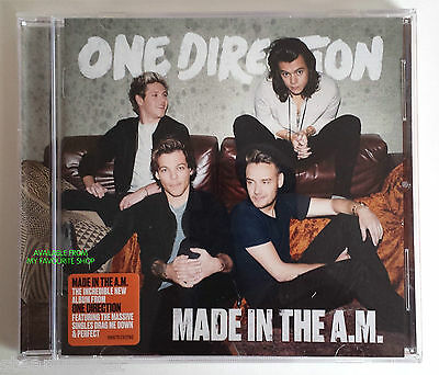 ONE DIRECTION MADE IN THE A.M. - 13 Track CD - NEW