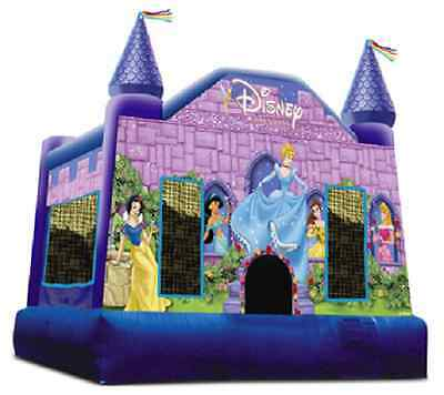 Jumping Castle Princess Hire Only Melbourne Children Party Entertainment Hire